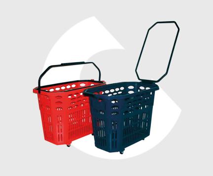 B60-Cesta supermercado plastico-Carttec