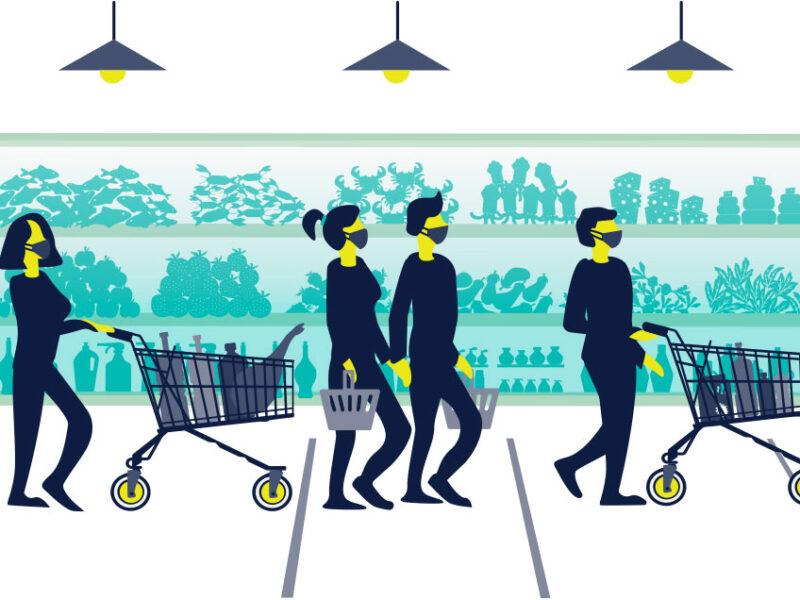 Supermarket queues