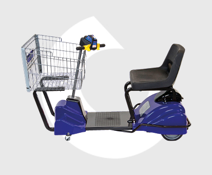 I180-Cart-Mart-Carro de supermercado para minusvalidos-Carttec