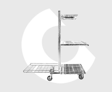 L180-Carro de almacen-Carttec