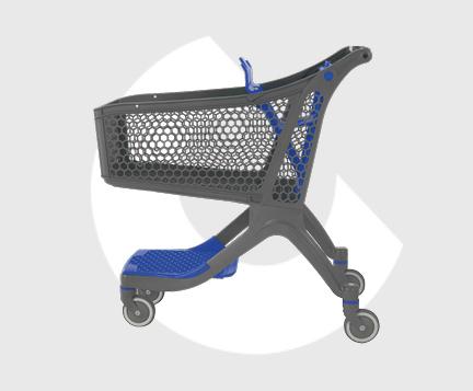P130-Carro supermercado plastico-Carttec