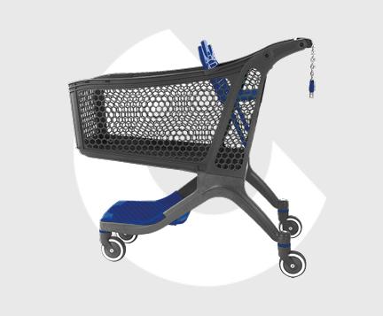 P175-Carro supermercado plastico-Carttec