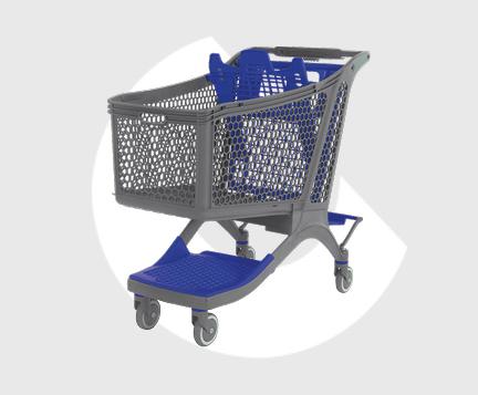 P220-Carro supermercado plastico-Carttec