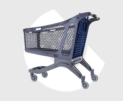 P240XL-Carro supermercado plastico-Carttec