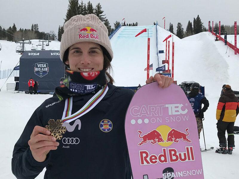 Merecido bronce para Queralt Castellet en los campeonatos del mundo FIS