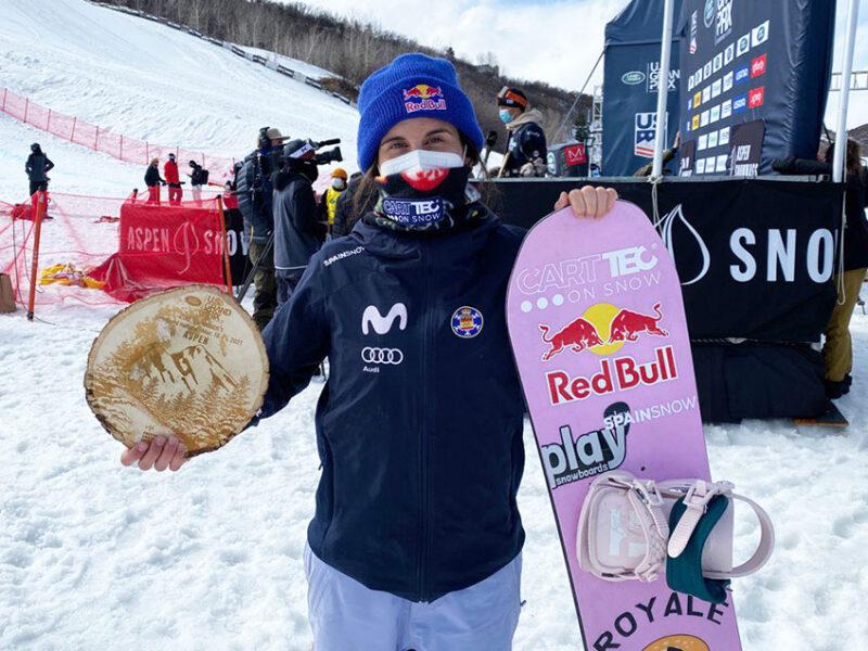 Queralt Castellet no abandona el podio: plata en la final de la Copa del Mundo FIS – Aspen