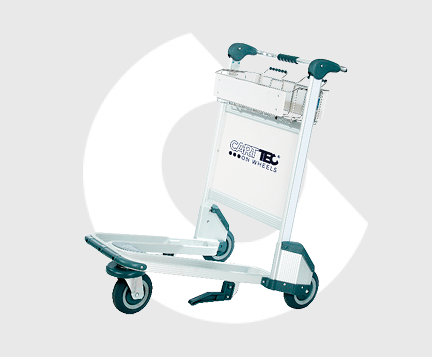 airport baggage carts