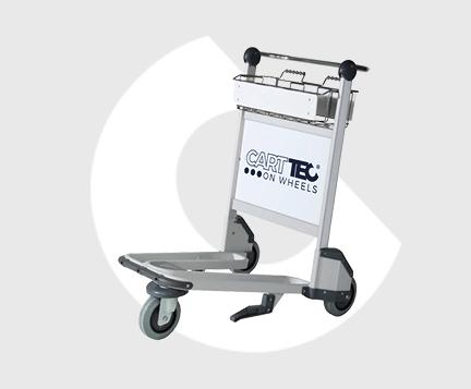 airport baggage carts