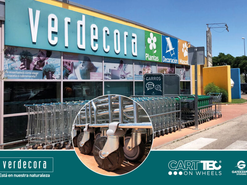 Verdecora entrusts Carttec to protect its trolleys