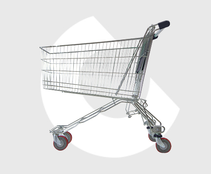 M180-Carro metal supermercado-Carttec