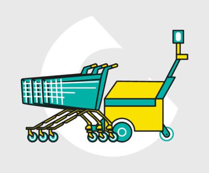 Recolector de carros-Carttec
